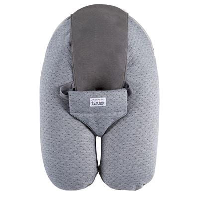 Coussin de maternité évolutif multirelax jersey gris/gris Tineo