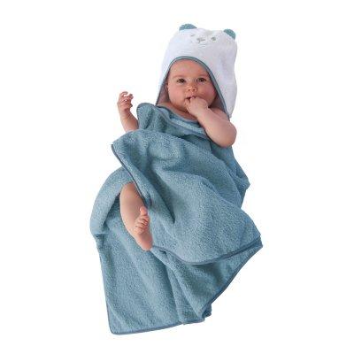 Sortie de bain evolutive celadon Tineo