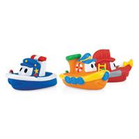 Jouets de bain bateaux