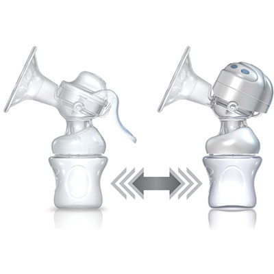 Commande electronique pour tire-lait natural touch Nuby
