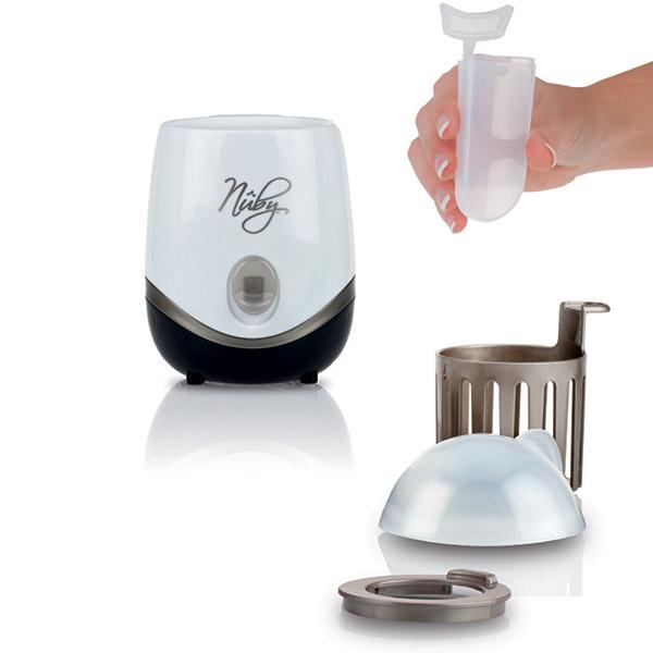 Sterilisateur et chauffe biberon natural touch 2 en 1 Nuby