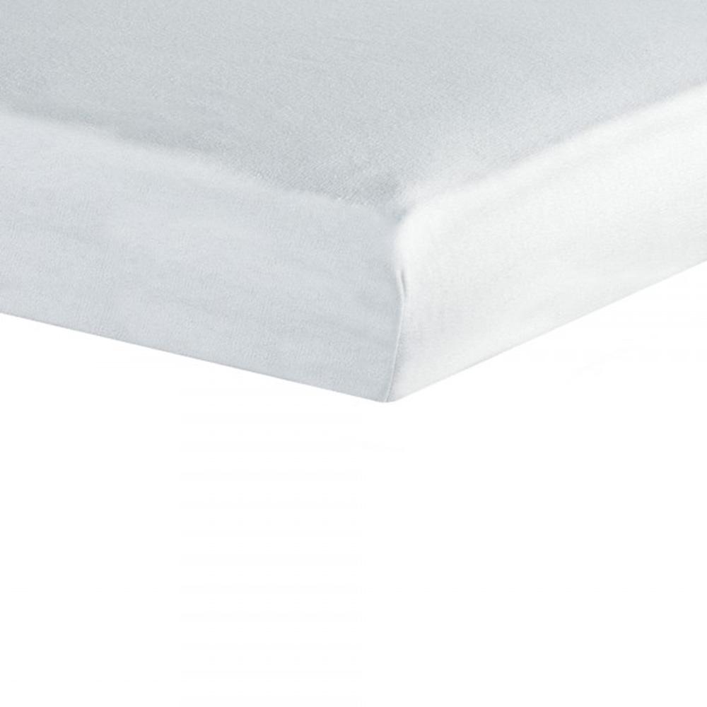 Drap housse 40x80 cm blanc de trois kilos sept sur allob b for Drap housse 40 x 90
