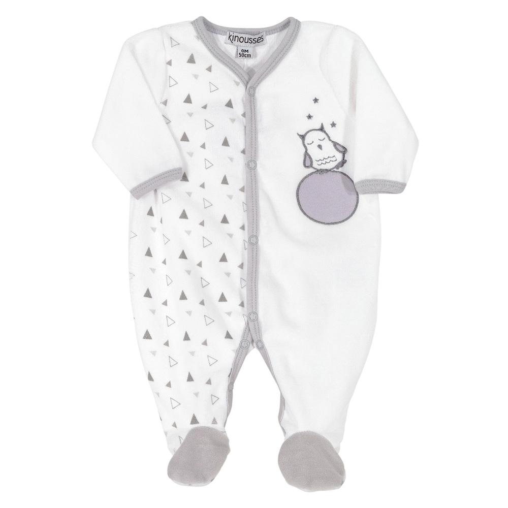 68c2cc18a4db4 Pyjama dors bien y hibou graphique de Trois kilos sept sur allobébé