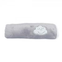 Couverture bébé flanelle 75 x 100 cm gris