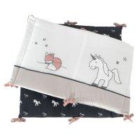 Tour de lit ophélia la licorne