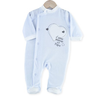 Pyjama bébé dors bien y- j'aime maman et papa