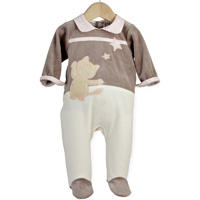 Pyjama bébé chat dans les etoiles
