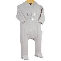 Pyjama bébé dors bien modèle unique gris