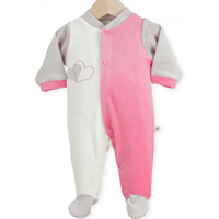 Pyjama bébé dors bien y-coeur