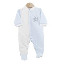 Pyjama bébé dors bien étoile blanc ciel 1 mois