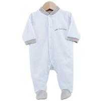 Pyjama bébé dors bien mon bout'chou bleu 1 mois