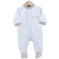 Pyjama bébé dors bien mon bout'chou bleu 3 mois