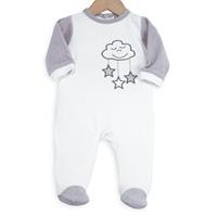 Pyjama bébé nuage blanc