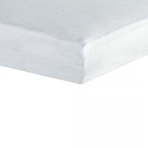 Housse alèse viscose de bambou 60x120cm blanc