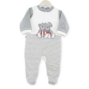 Pyjama bébé dors bien praline et caramel