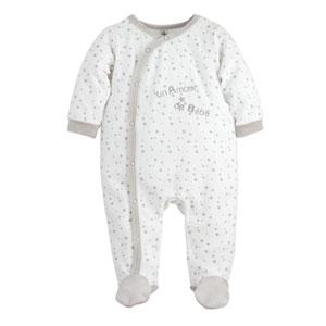 Pyjama bébé un amour étoiles
