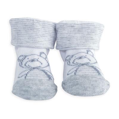 Chaussettes bébé nounours Trois kilos sept