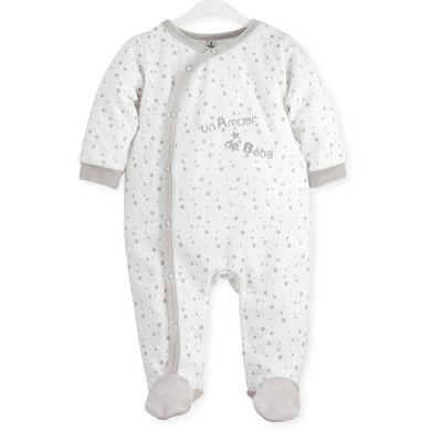 Pyjama bébé dors bien un amour de bébé 0 mois Trois kilos sept