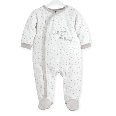 Pyjama bébé dors bien un amour de bébé 1 mois Trois kilos sept