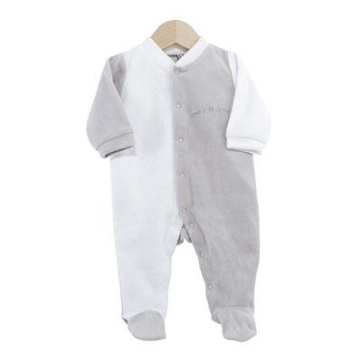 Pyjama bébé dors bien mon p'tit ange 3 mois Trois kilos sept