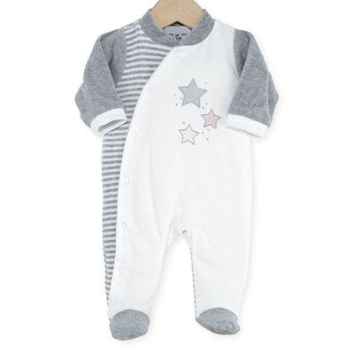 Pyjama bébé étoiles Trois kilos sept