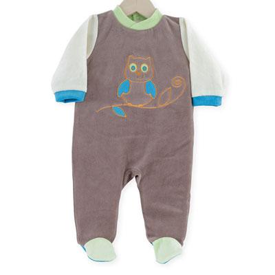 Pyjama bébé hibou Trois kilos sept