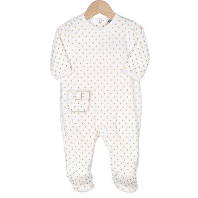 Pyjama dors bien pois dorés Trois kilos sept