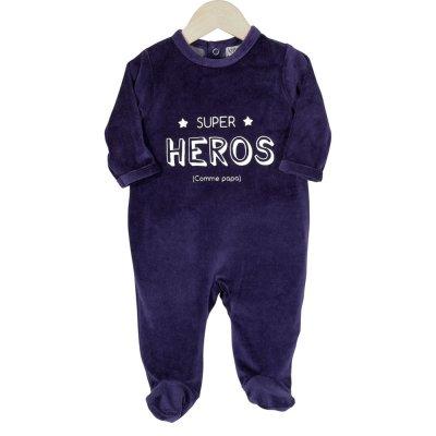 Pyjama dors bien super héros Trois kilos sept