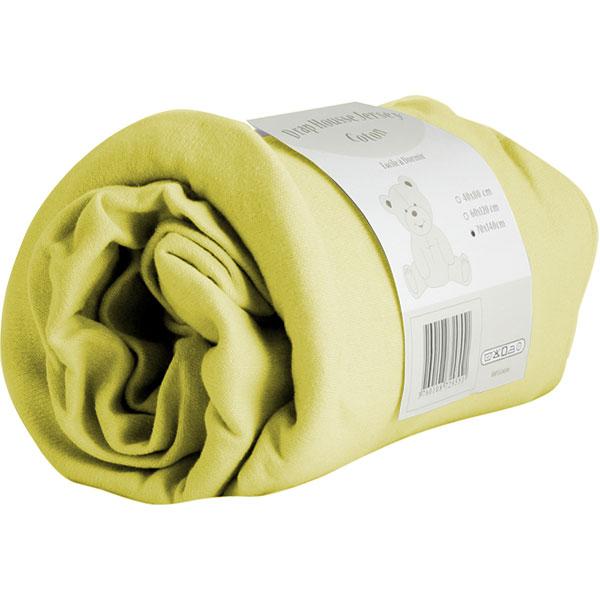 Drap housse 70x140 cm vert acid Trois kilos sept
