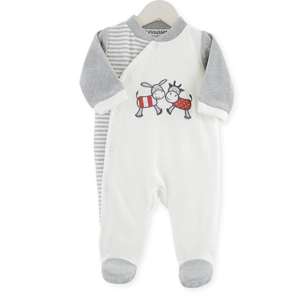 Pyjama bébé dors bien y-ane & vache Trois kilos sept