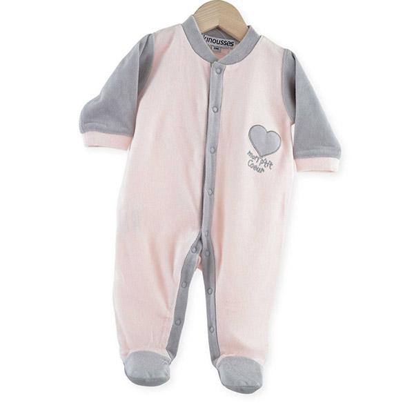 Pyjama bébé dors bien mon p'tit coeur Trois kilos sept