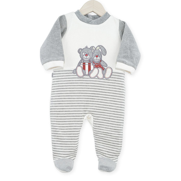 Pyjama bébé dors bien praline et caramel Trois kilos sept