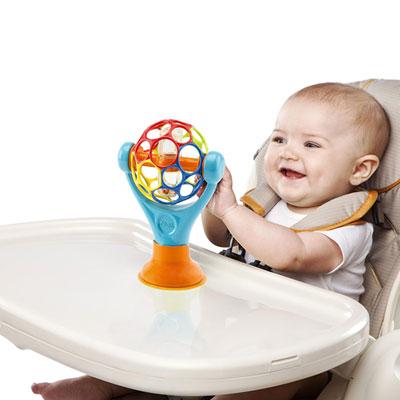 Jouet d'éveil bébé ventouse de grip & play Oball