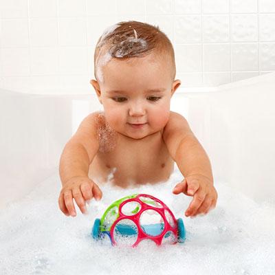 Jouets de bain bébé oball flottant Oball