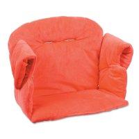 Coussin de chaise haute évolutive rouge