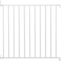 Barrière de sécurité clicmetal blanc 60-107 cm