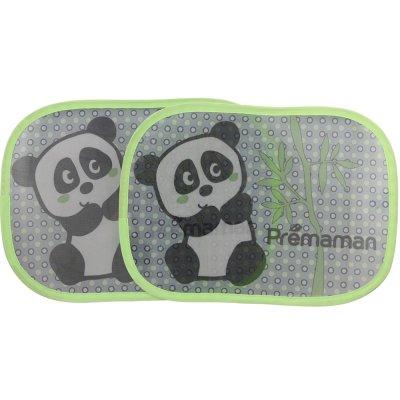 Lot de 2 pare-soleil panda Premaman