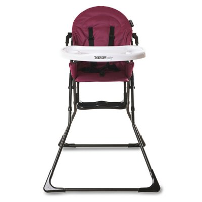 Chaise haute bébé théo red Premaman