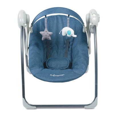 Balancelle bébé bleu chiné Premaman