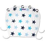 Protection pour poussette nacelle et coque dooky étoiles bleu
