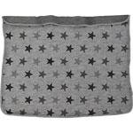 Couverture bébé dooky étoiles grises