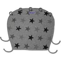 Protection pour poussette nacelle et coque dooky étoiles grises