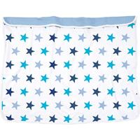 Couverture bébé dooky étoiles bleu