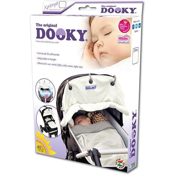 Protection pour poussette nacelle et coque dooky écru Dooky