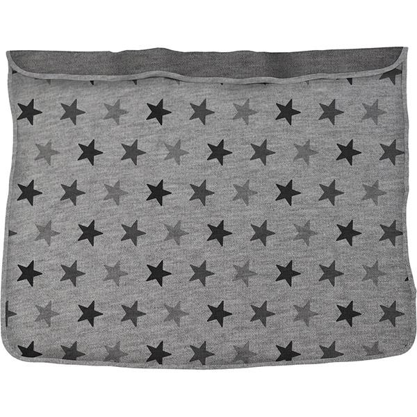 Couverture bébé dooky étoiles grises Dooky