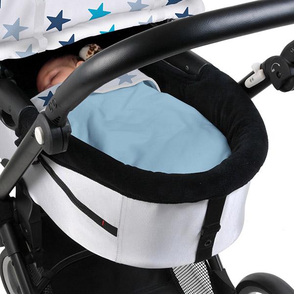 Couverture bébé dooky étoiles bleu Dooky