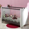 Chambre bébé trio doudou taupe lit + commode + armoire Loupiot