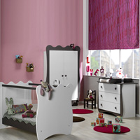 Chambre bébé trio doudou taupe lit + commode + armoire