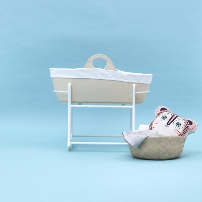Couffin bébé contemporain moba crème Moba
