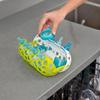 Panier lave-vaisselle clutch vert / blanc Boon